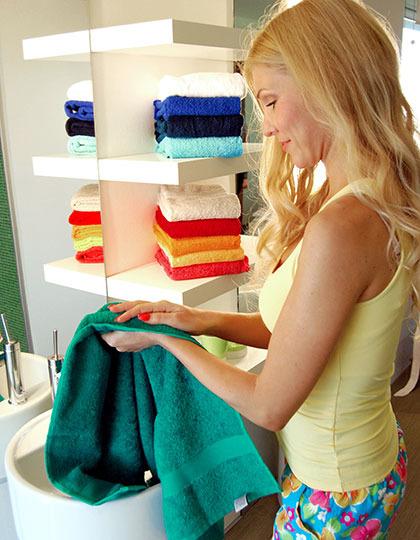 Frottee Handtücher besticken und veredeln